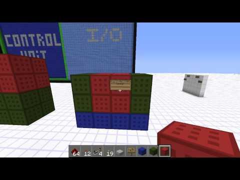 Advanced Redstone Computer Tutorial 7: Designing a CPU