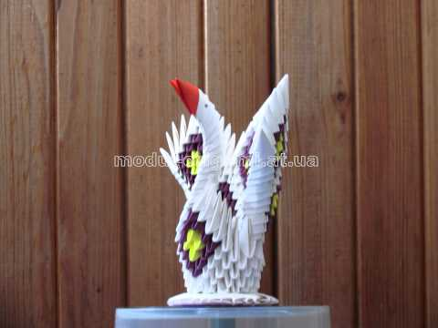 Делаем оригами своими руками: лебедь из бумаги?