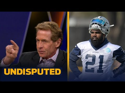 Skip Bayless doesn't think Ezekiel Elliott will serve any of his suspension this year | UNDISPUTED
