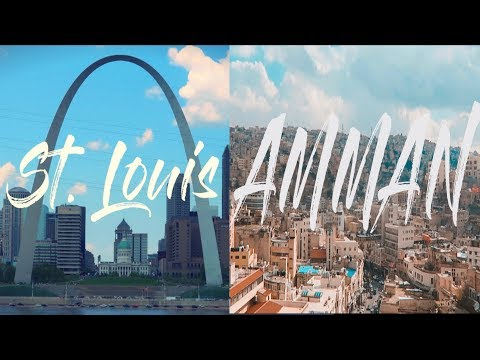 WOW Air Travel Guide Application | ST. LOUIS & AMMAN (My Hometowns)