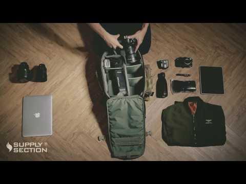 Supply Section-Yukon-III Military Camera Backpack