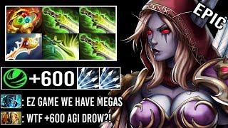 1900 LH +600 AGI 7.23 APEX Drow Ranger vs Megas Most Epic Def Comeback Rapier vs Imba PA Fun Dota 2