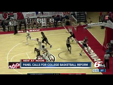the changes recommended to NCAA college basketball
