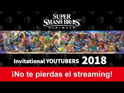 Super Smash Bros. Ultimate - Invitational YouTubers 2018 thumbnail