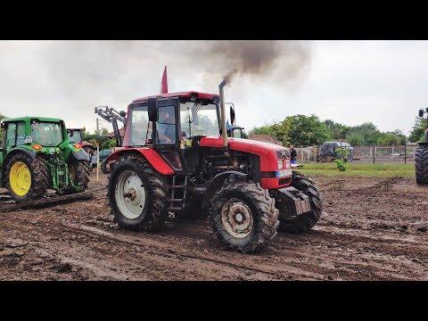Belarus 6 cylinder tractor pulling 2019, clutch burned