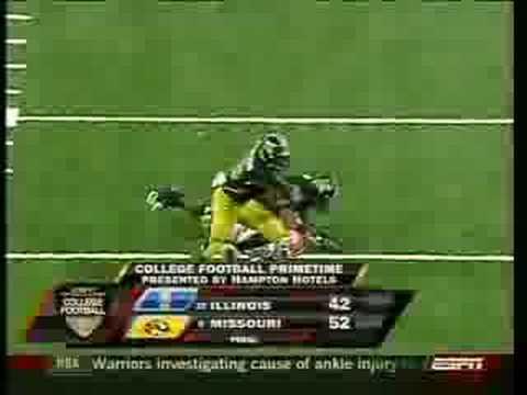 Nate on national TV - Illinois v. Missouri 8/30/08