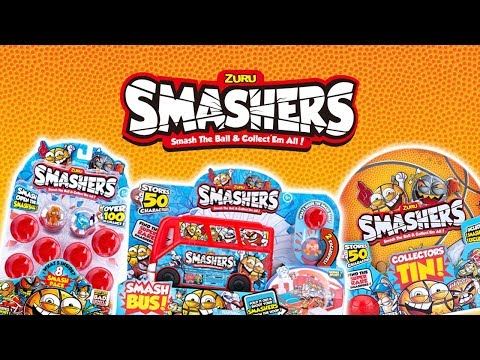 SMASHERS FROM ZURU! | A Toy Insider Play by Play