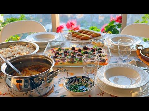 Ramadan Turkish Iftar Menu: Kofta & Potato With Yogurt / Ottoman Lentil Soup & Walnut Dessert