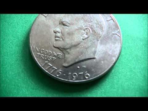 Liberty US Silver Dollar Coin 1776-1976