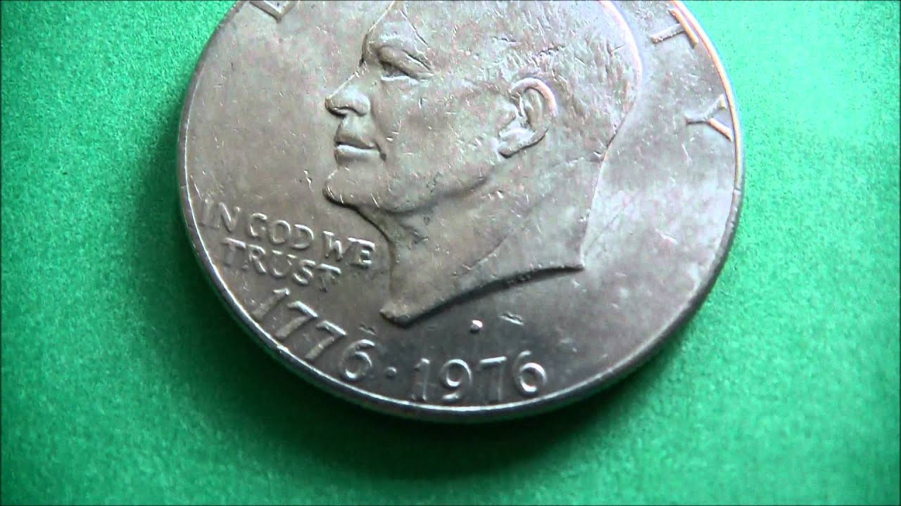 Liberty Us Silver Dollar Coin 1776 1976 Youtube