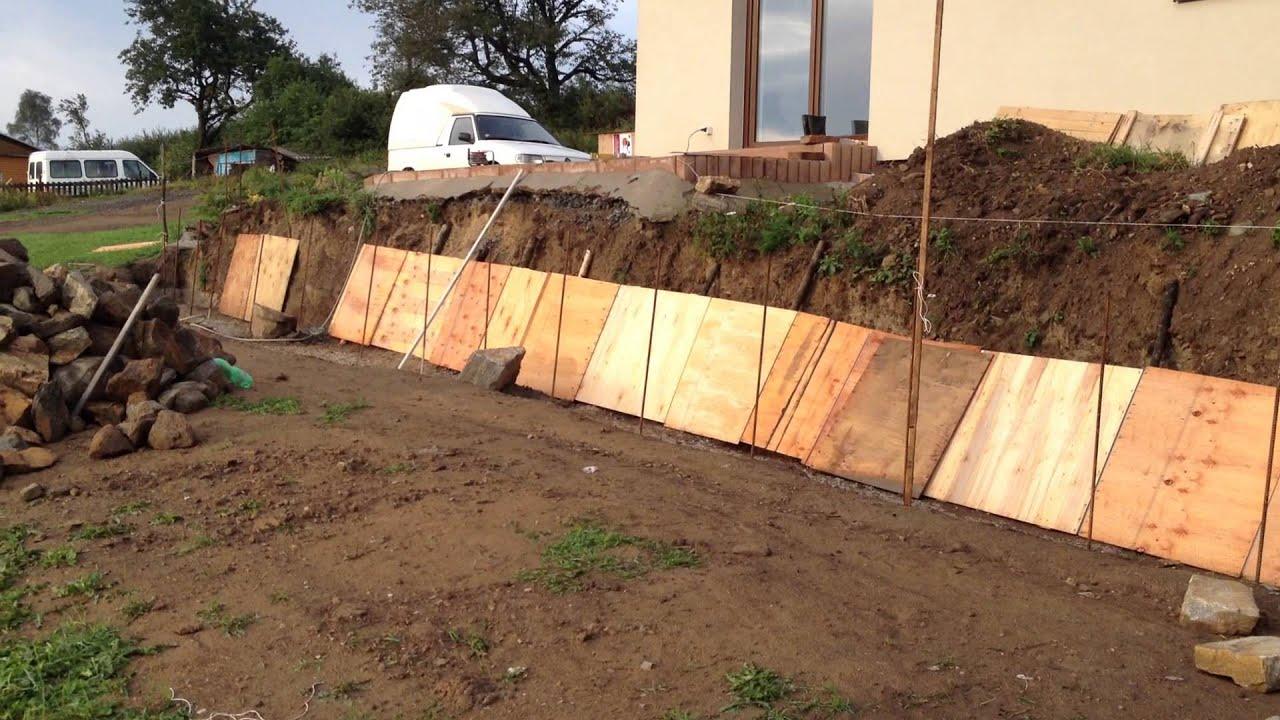 Jak postavit opěrnou zeď