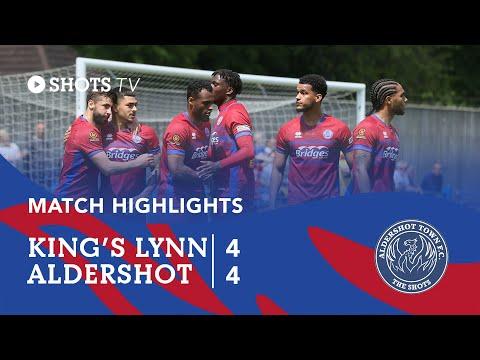 King's Lynn Aldershot Goals And Highlights