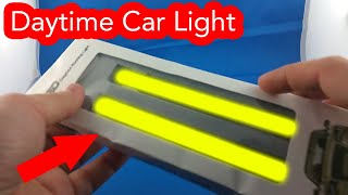 ✅ Car Waterproof COB LED Lights from AliExpress Unboxing