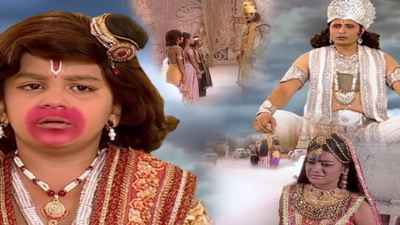 सूर्य देव के तीन पुत्र थे इन के साथ इस घटना से  क्रोधित ज्वाला रूप लिए - Jai Jai Jai Bajrangbali 309