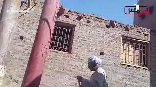 أهل مصر من أمام منزل الفتاتين التي عثر عليهما مذبوحيتين بجزيرة مطيرة في قنا