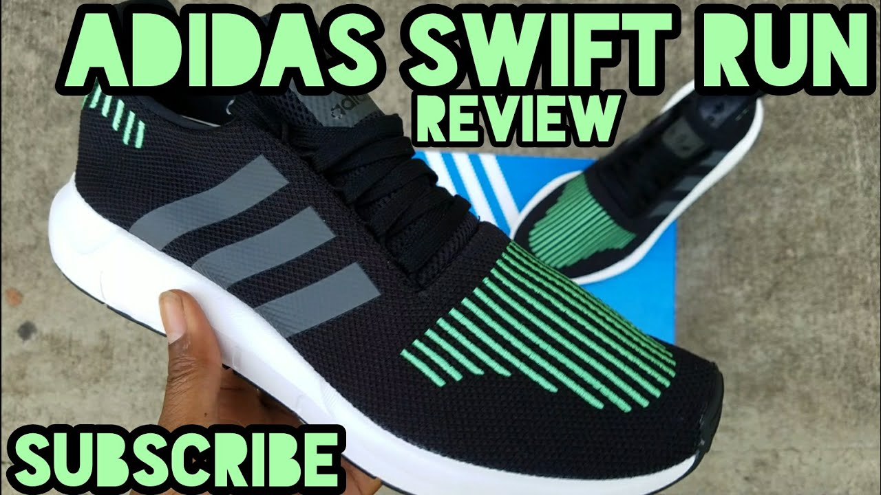 7c1c84fa10 ADIDAS SWIFT RUN REVIEW - YouTube