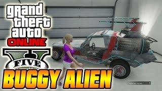 GTA V Online - Truco Conseguir Coche Alienigena Oculto [Space Docker] - Grand Theft Auto V (GTA 5)