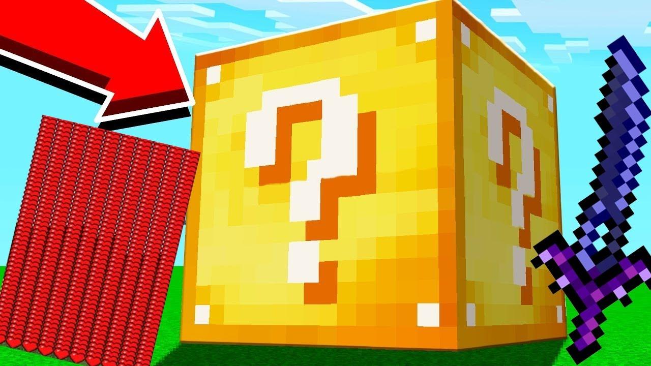Miếng Pizza Siêu Vip Trong Minecraft ** T Gaming Thử Thách Đập Lucky Block