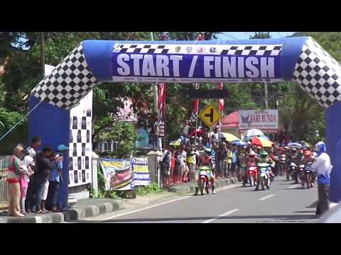 Road Race Kota Gorontalo 2018 |KELAS MP4|