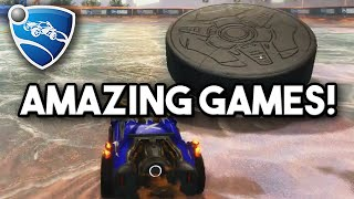 Rocket League Snow Day Hockey Gameplay - Two AMAZING Games!!!