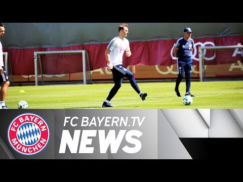 Neuer back in team training – heynckes: we've done everything right