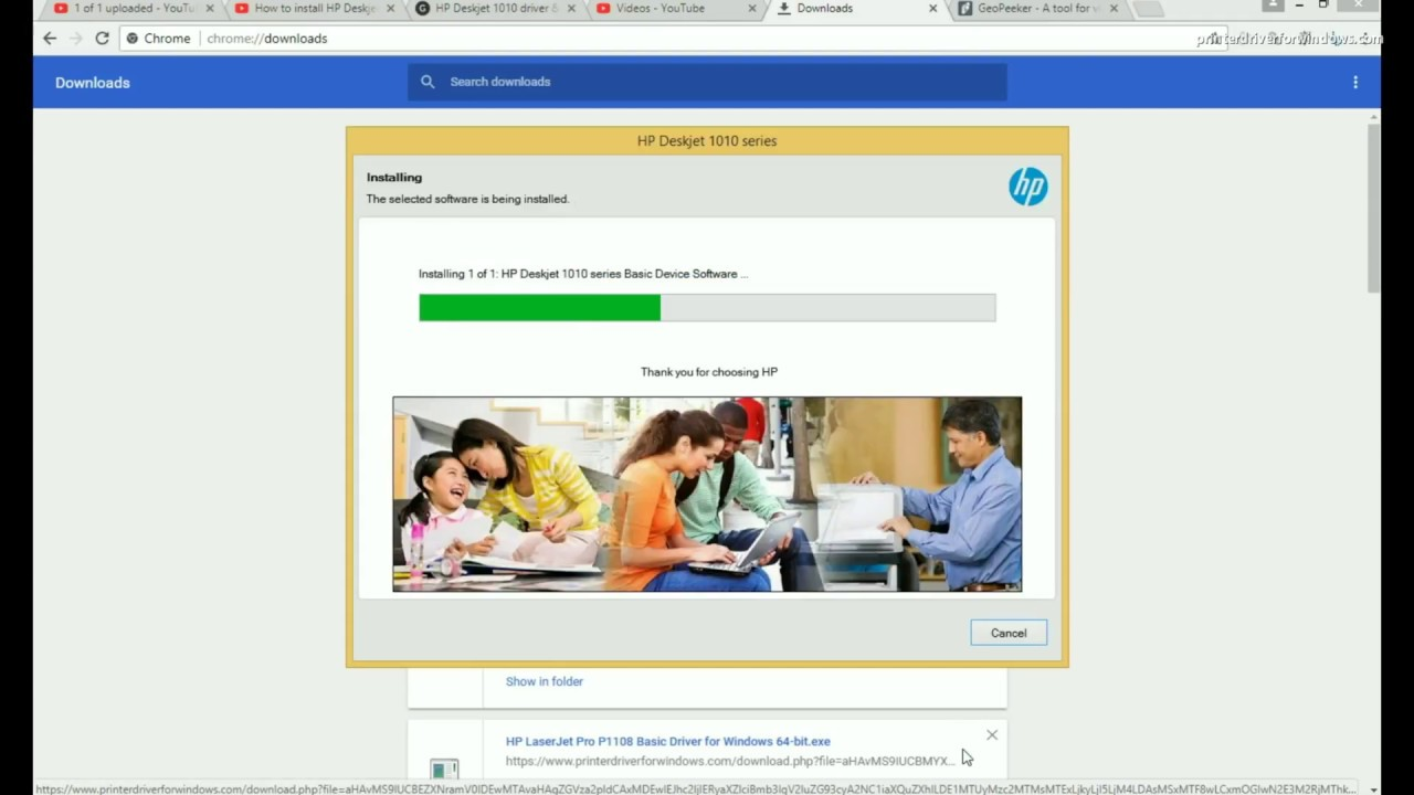 Hp deskjet 1010 printer driver download (new update) windows / mac.