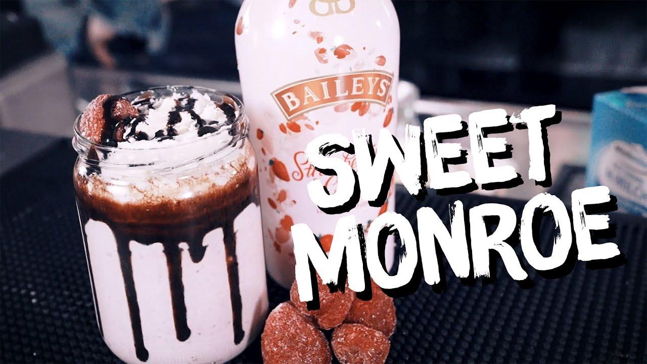 Sweet Monroe   Erdbeer Milchshake mit Baileys Strawberry & Cream   BBB    machsdirselbst