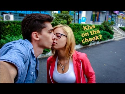 """Kiss on the cheek"" CINEMATIC SELFIE KISS PRANK - Original"