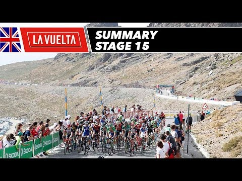 Summary - Stage 15 - La Vuelta 2017