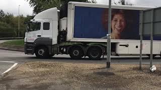 Trucks at Crick 17/09/18.