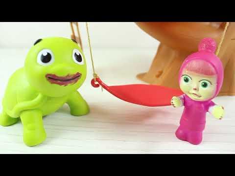 Niloya Ve Tosbik Makyaj Yapıyor Maşa Tosbiği Görünce Ne Yaptı Eğlenceli Çizgi Film