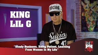 King Lil G- Shady Business, Being Patient, Learning From Women In My Life (247HH Exclusive)
