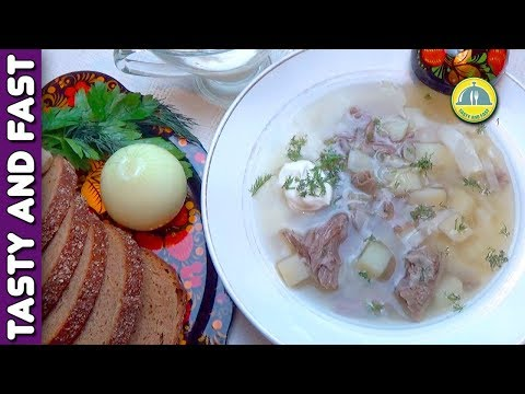 "ᴴᴰ Delicious Cabbage Soup ""Lazy Shchi"". Recipe from the Culinary Book of 1892 