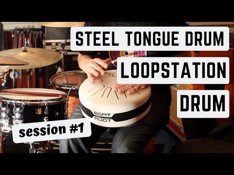 Beat Root Electro ( Hank Drum ) + Boss RC 300 Loop Station + Drum