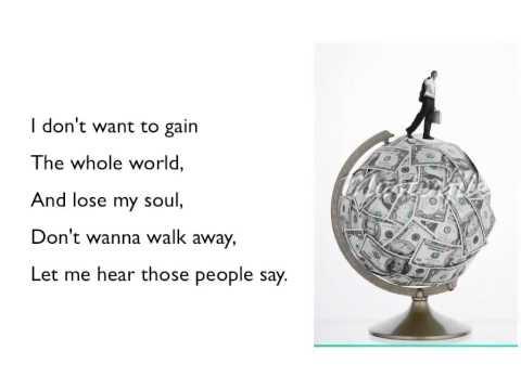 Lose My Soul ~ Toby-Mac, Kirk Franklin And Mandisa ~ Lyric Video
