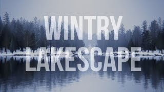 Creating a Wintry Lakescape with Blender 2.8