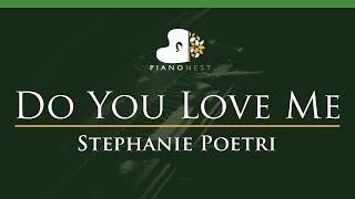 Download lagu Stephanie Poetri - Do You Love Me - LOWER Key (Piano Karaoke Instrumental)