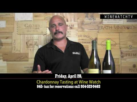 Chardonnay Tasting at Wine Watch Friday, April 28, 2017 - click image for video