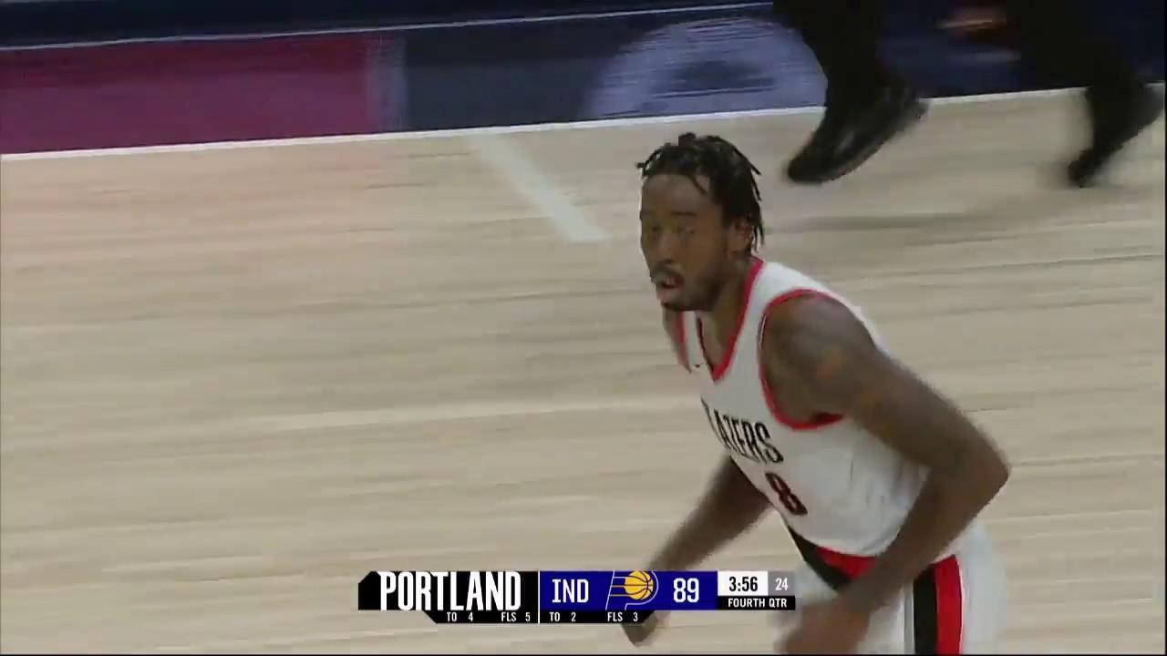 Al-Farouq Aminu posts 16 points & 16 rebounds vs. the Pacers