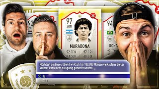 FIFA 19: ICON DISCARD BATTLE im PlayerPick Style vs Gamerbrother 🔥😱