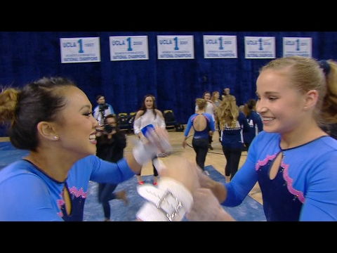Madison Kocian, Christine Peng-Peng Lee post perfect 10's for UCLA