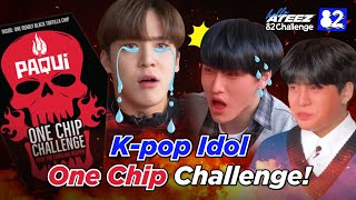 ATEEZ Tries the One Chip Challenge I 82Challenge EP.7
