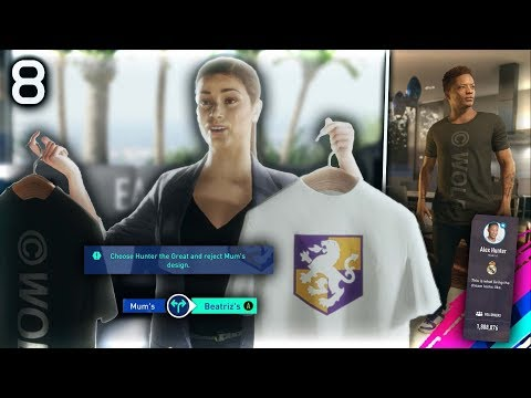 FIFA 19 THE JOURNEY Episode #8 - ALEX HUNTER BRAND!  (The Journey Full Movie Series)