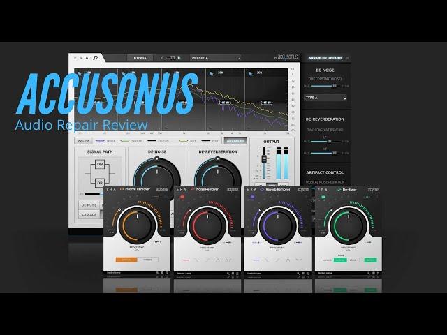 Accusonus Audio Repair - Software Review