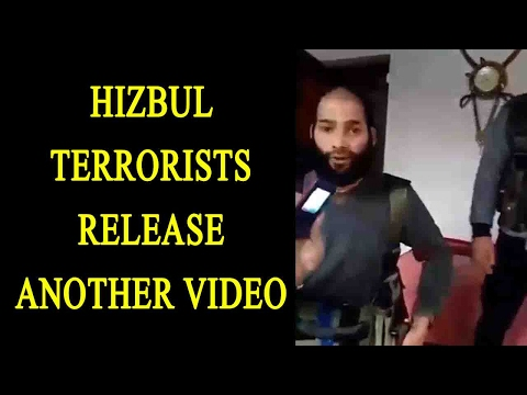 Jammu & Kashmir: Hizbul Mujahideen release another video, watch| Oneindia New