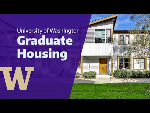 Graduate Housing at the University of Washington