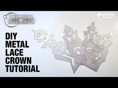 Jupiter Ascending | DIY Metal Lace for Bridal Crown Dress
