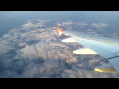 Перелёт на самолете: Москва Домодедово - Сочи, Март 2017
