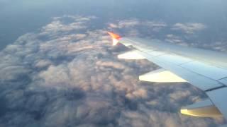 Перелёт на самолете: Москва Домодедово - Сочи, Март 2017(, 2017-03-29T10:39:29.000Z)