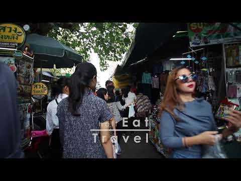 Explore Wang Lang Market, Bangkok February 2018